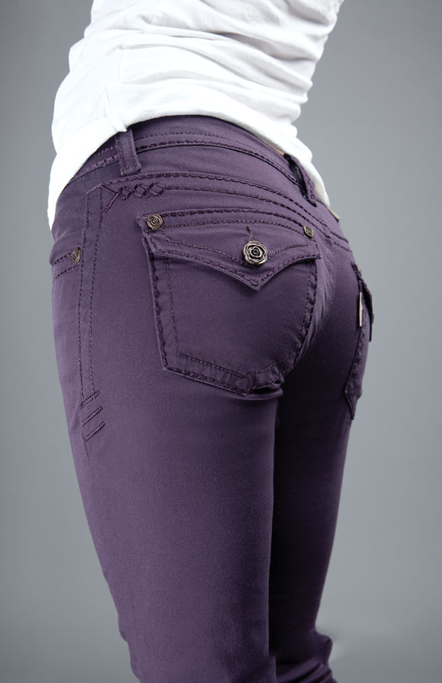 Rose Royce Bootcut - Plum