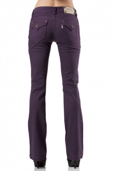 Rose Royce Bootcut Jeans - Plum