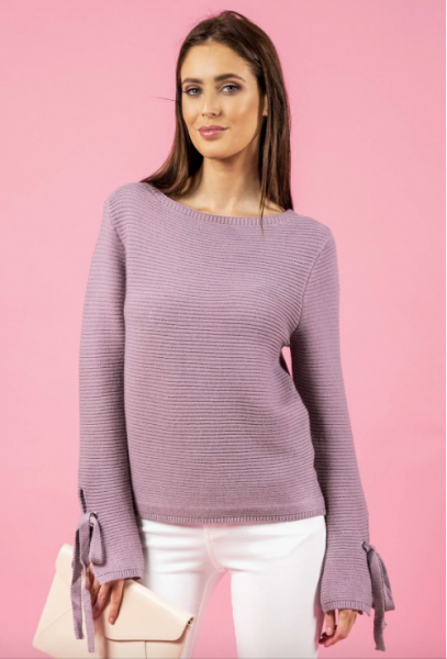 Split Sleeve Knit