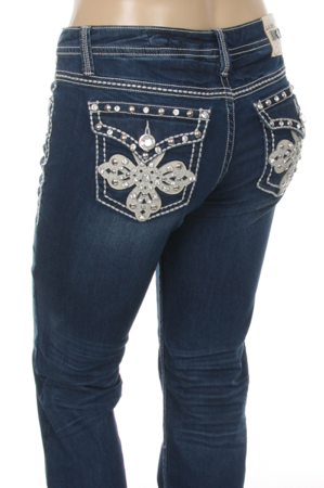La Idol - Plus Size Embellished Jeans