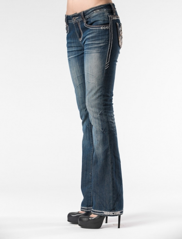 New Pearla Bootcut Jeans