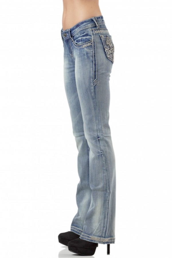Sarah Bootcut Jeans - Lightwash