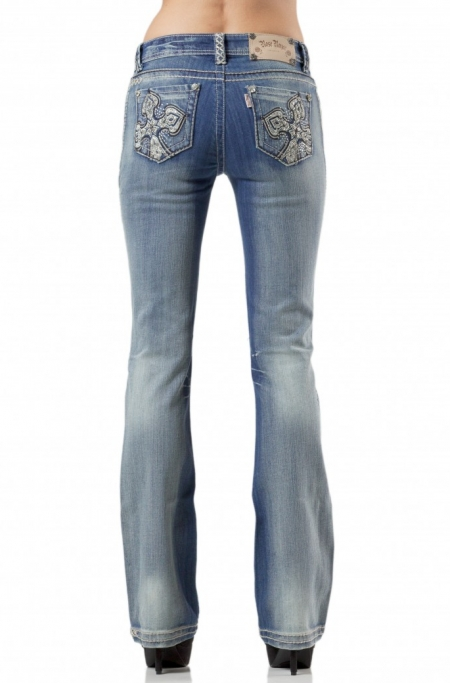 Rose Royce Sarah Bootcut Jeans - Lightwash