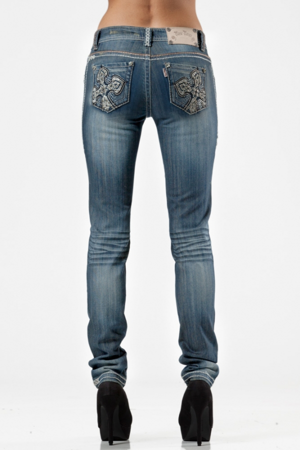 Sarah Skinny Jeans - Lightwash