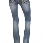 Denim Couture - Angel Wings Bootcut Jeans