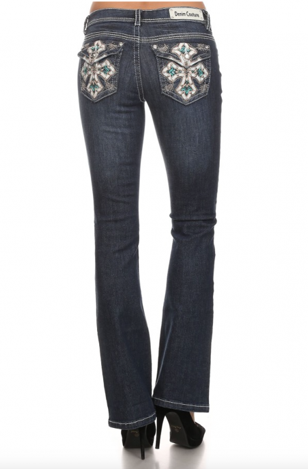 Denim Couture - Blue Bootcut Jeans