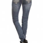 Denim Couture - Flap Pocket Skinny Jeans